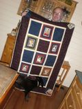 Ray, Sybil and the Opera Quilt