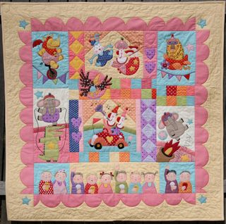 Animal Crackers, the quilt