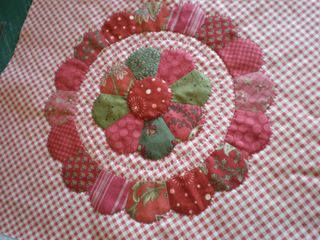 Paper Pieced Wreath
