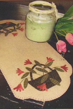 Tulip Basket Table Mat