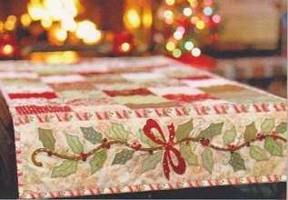 Holly and Berries Table Runner