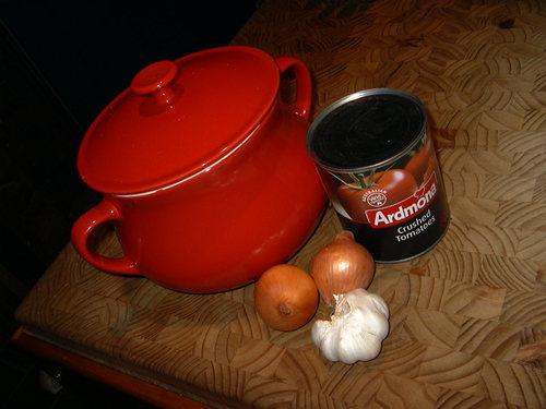 Bacon and Garlic Tomato Soup